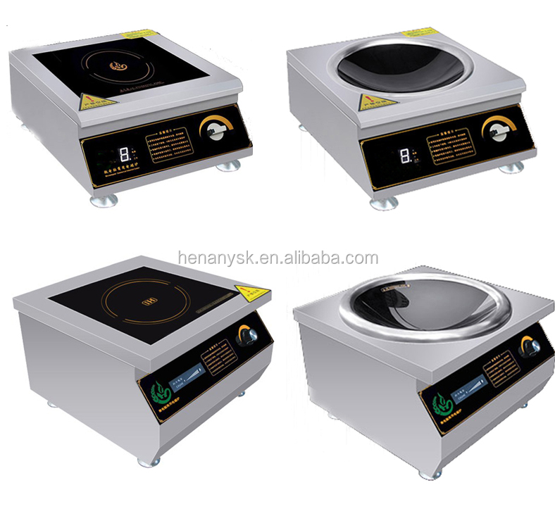 CH-5AM  5000w High Quality Stainless Steel Hot Electric Induction Cooker Table Top Series