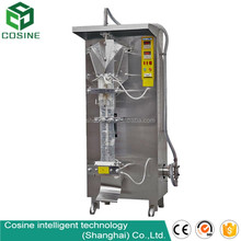 Stainless steel industrial automatic pure water sachet filling machine liquid filling packing machine