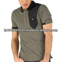 Viscose / Cotton Men's Short sleeve Polo T-shirt
