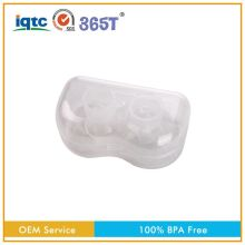 BPA PVC and Phthalate Free color printing customized 100% organic plastic nursing breast pad