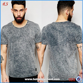 Buy custom stone washed t shirt in China on Alibaba.com