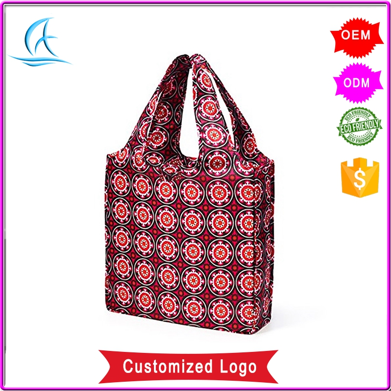 Korean 600 Denier Polyester Shopping Tote Bag