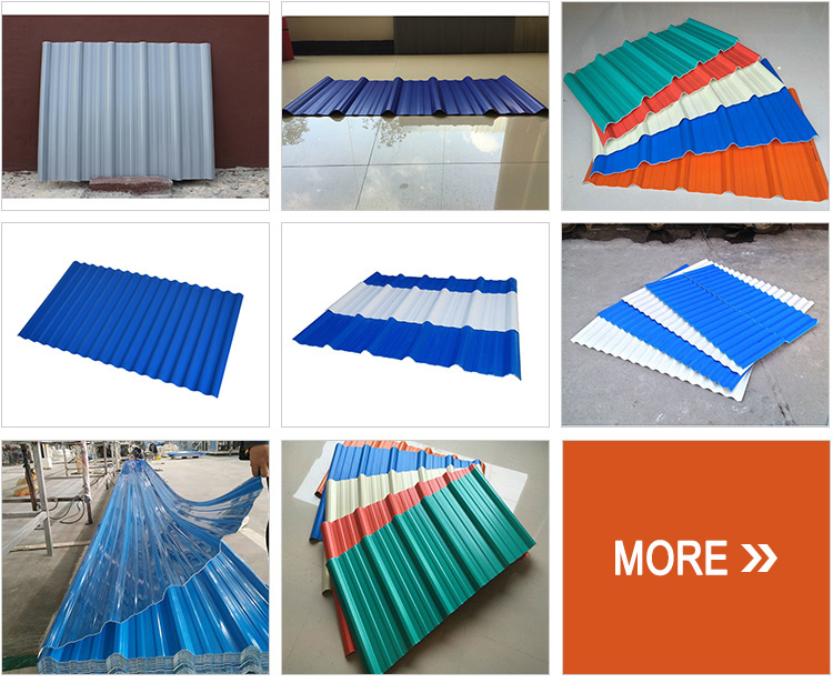 High quality pvc plastic roof sheet price