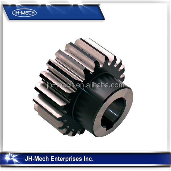Investment casting alloy steel threaded gear fittings
