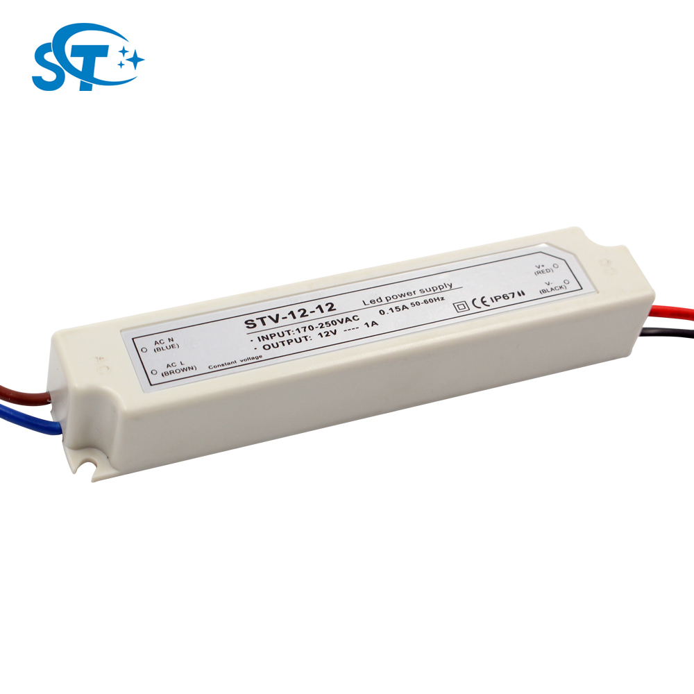 waterproof ip67 constant voltage ac dc converters ac 220v 230v 240v to dc 12v 24v
