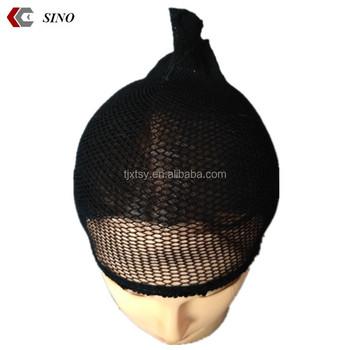 fe8c4ca84 Black Silk Stocking Wig Cap Deep Wave Mesh Net Wig Cap Polyester Dome Long  Full Wig Cap Oem - Buy Black Silk Stocking Wig Cap,Deep Wave Mesh Net Wig  ...