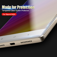 CAFELE HD Clear Screen Protector for xiaomi max 0.3 mm 2.5D Curved Edge Tempered Glass Protective Film for xiaomi MI max