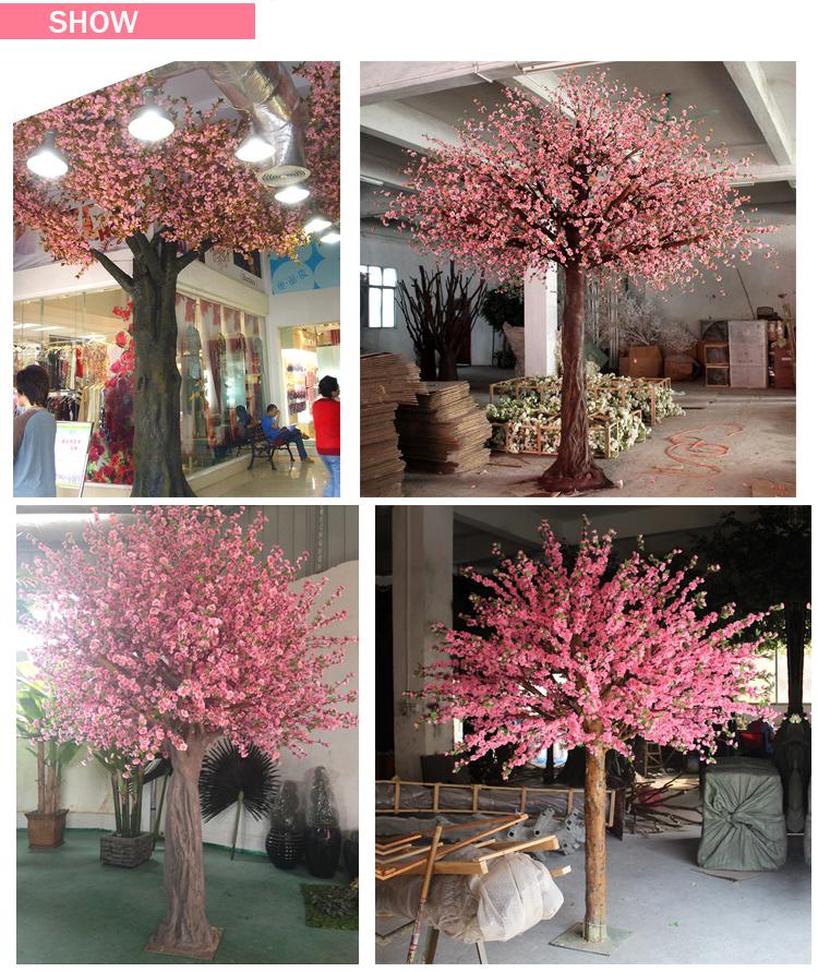 View Wedding Decor: Artificial Cherry Blossom Tree Mini Cherry Blossom Tree