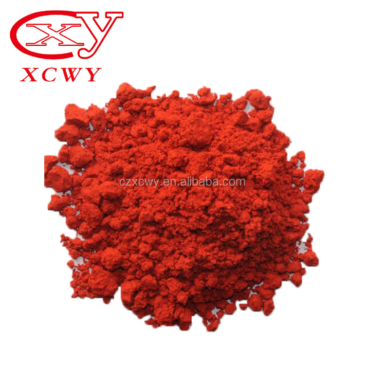 Appearance red powder packing customized new style solvent red 122