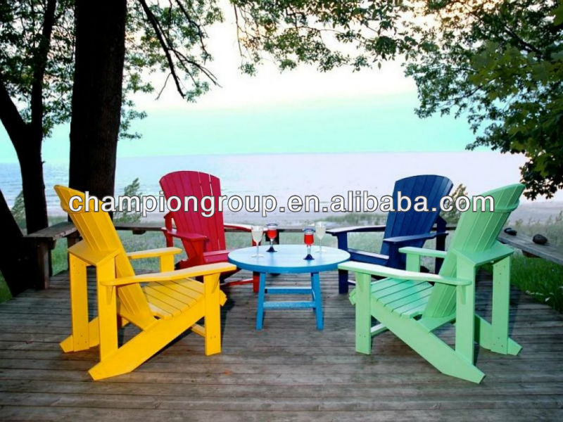 Various Color Polywood Adirondack Chair