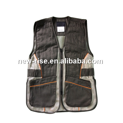 Multi pocket hunting camping fishing vest
