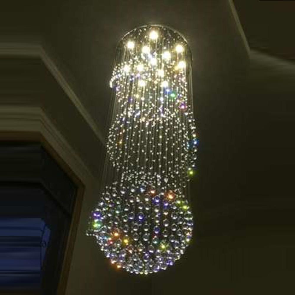 popular round crystal chandelier ball buy cheap round crystal chandelier ball lots from china. Black Bedroom Furniture Sets. Home Design Ideas