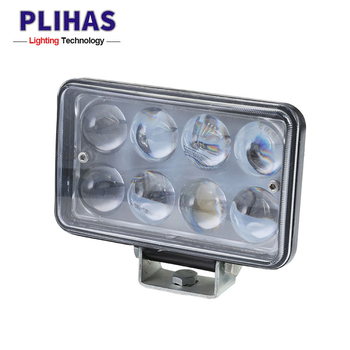 2018 hot selling 24W 960lm Auto Car Headlight wholesale square Led Driving Lamp trailer fog light headlamp