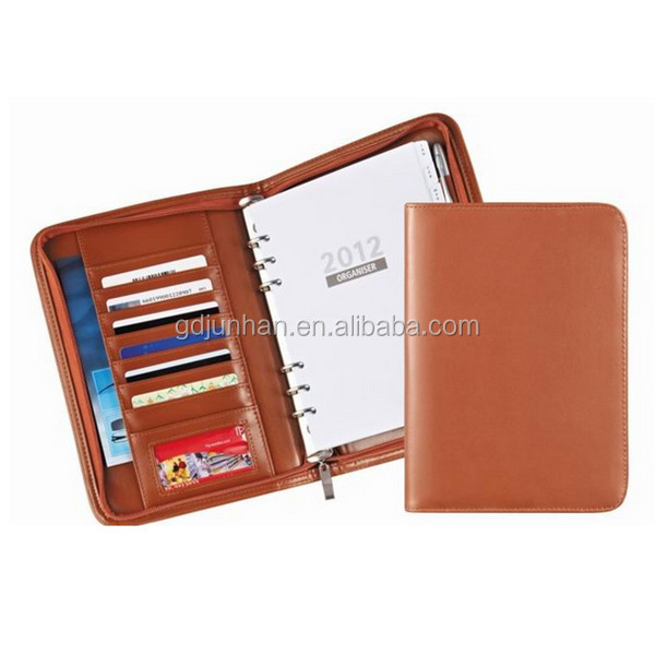 2015 zip leather compendiums planner