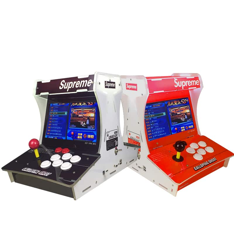 2019  latest 1388 games in 1 Mini Arcade Game Machine 2 player model indoor video game Home Use Fighting Table Game Machine