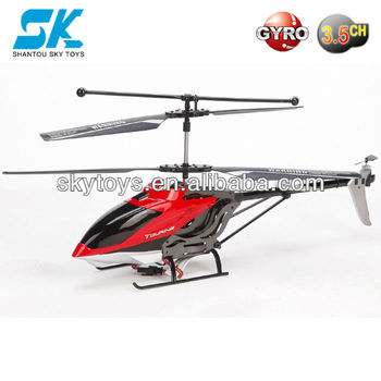 Rc Plane 777-533 Rc Middle 3.5ch Alloy Helicopter With Gyro