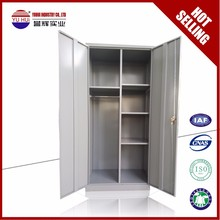 KD Multi function Metal Steel wardrobe as Clothes Wardrobe and File Cabinet Expoted to Saudi Arabia