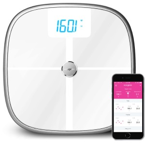 Koogeek Smart Health Scale Bluetooth Wi-Fi Sync digital luggage scale