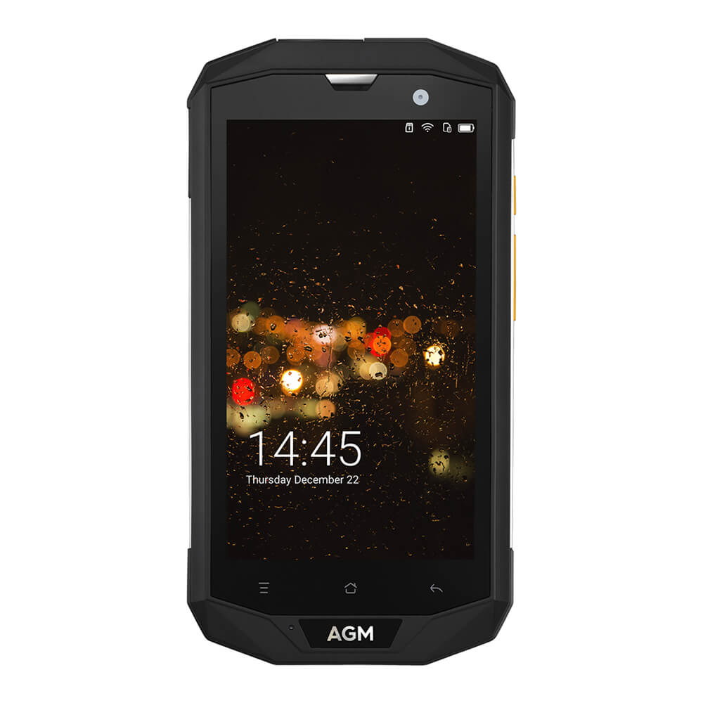 original AGM A8 IP68 Waterproof Qualcomm MSM8916 Quad Core 3GB 32GB 5.0 Inch Android 7.0 4G LTE Mobile Phone 13.0MP
