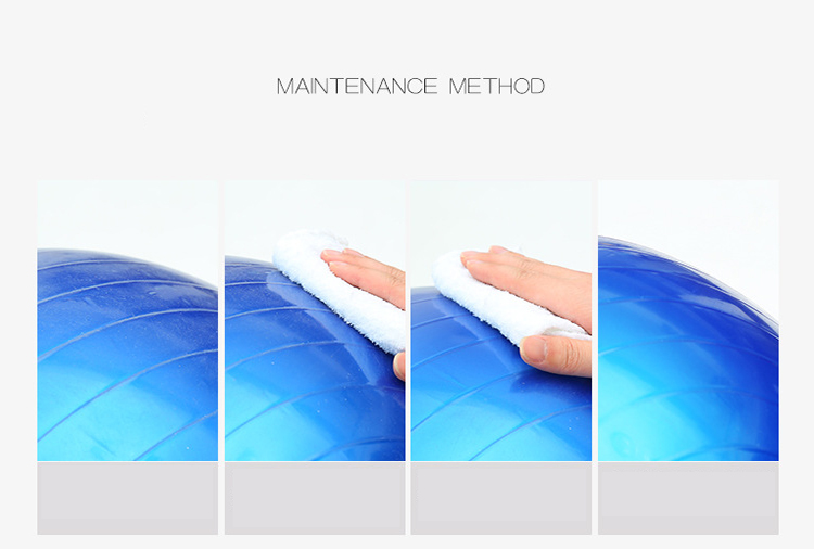 Hot selling Eco Friendly Anti Burst PVC Gym Exercise Fitness Yoga Ball