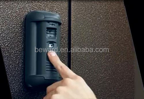 China manufacture wireless intercom home automation ip video door station