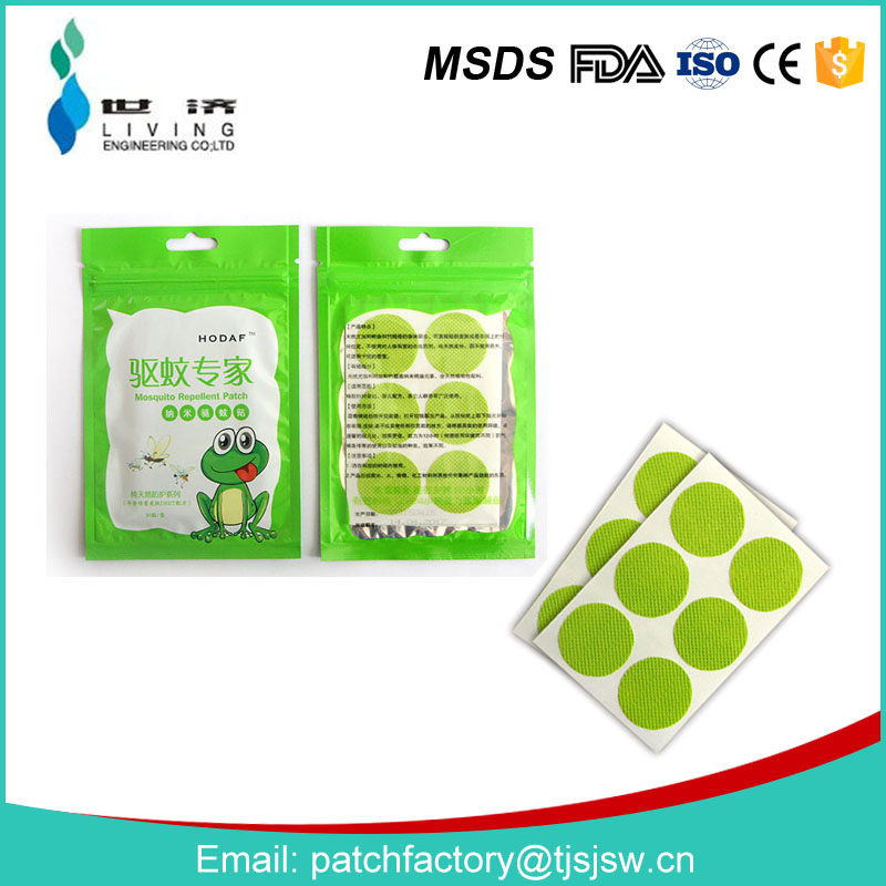 Mosquito Repellent Patch keeps Insects and Bugs Far Away, Simply Apply to Skin and Clothes, Adult, Kid and Pet-Friendly
