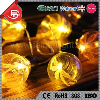 Tzfeitian Durable Hot Sales Christmas Maple Leaf Light Bulb Cover ...