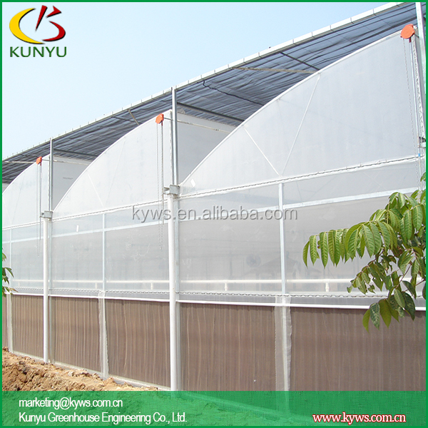 Sawtooth Type Greenhouse Roof Material Double Layer Plastic  Greenhousegreenhouse Panels
