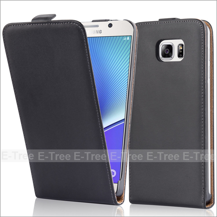 For Samsung Galaxy Note 5 Flip Magnetic Genuine Leather Phone Case