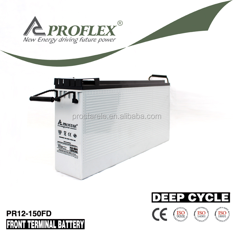 Prostar long life rechargeable 12v 150ah lead acid Storage battery