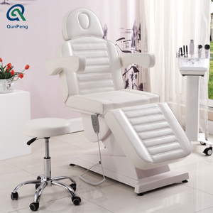 High quality electric facial chair bed/cosmetic electric beauty salon spa facial bed