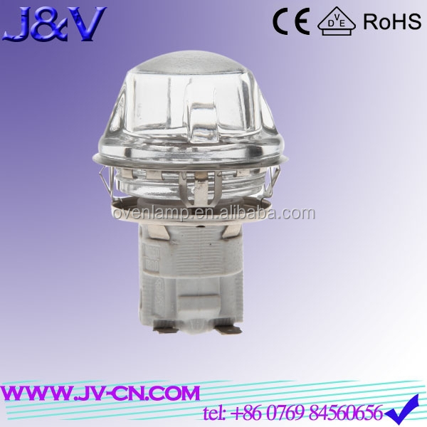G9 toaster oven halogenerator lamp made in China for flavor wave oven parts