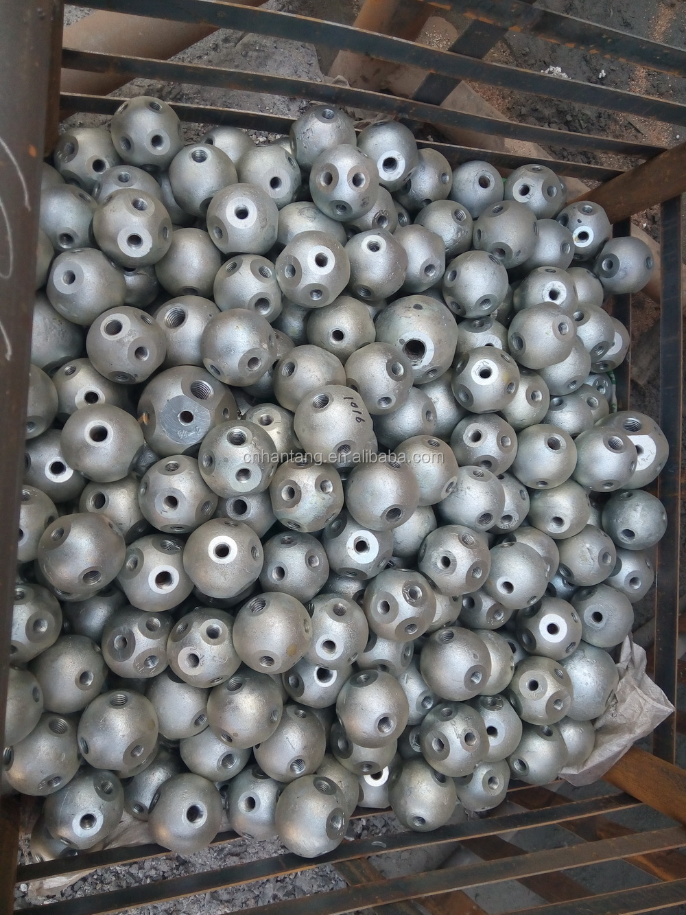Galvanized Steel Bolted Node For Space Frame Buy Ball
