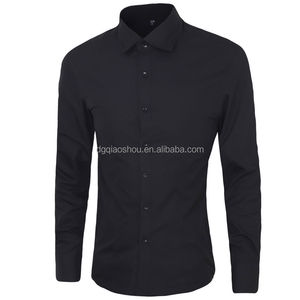 Top sale mens solid color shirts wear