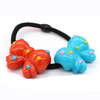 New hair accessories children's hair ring mouth acrylic candy color girl headwear cartoon hair ring