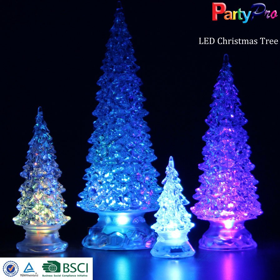 2015 New Style Fashion and High Transparent Mini Led Christmas Tree