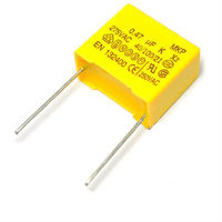 Safety film capacitor 275V 474K 0.47UF 470NF x2 pin pitch 15mm mkp x2 275vac
