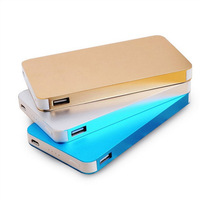 New products portable power bank 6000mah a power bank portable charger review