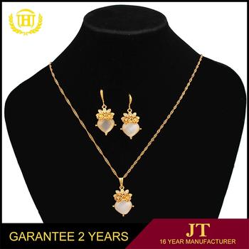Fashion cheap italian gold plated jewelry sets dubai gold jewelry
