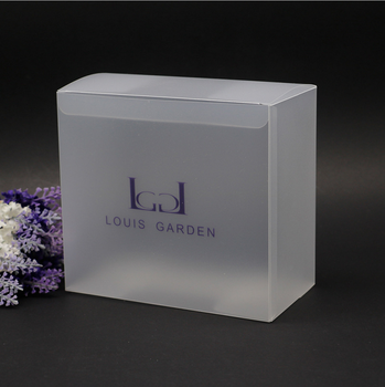New products custom design home used clear plastic cube pvc box