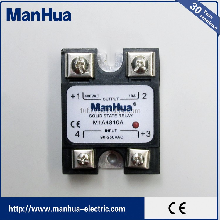 20DD SSR Control 3~32VDC output 5~220VDC single phase DC solid state relay 20A