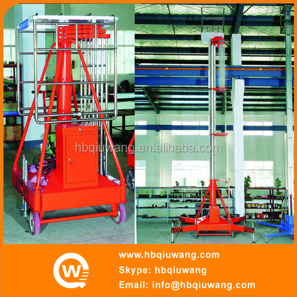 Single Ladder Cylindrical Electrical Elevators