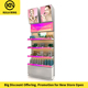 Modern Shop Counter Store Design For Cosmetics Makeup Stand With Lights Cosmetics Display Shelf