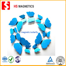 Supply PVC simulated magnetic butterfly arts decoration gifts garden plastic arts