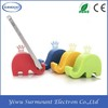Cheapest Universal Silicone Mobile Phone Stents/Cute Mini Elephant Silicone Smartphone Holder