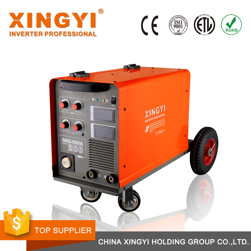 MIG/MMA-160Y3 Best price aluminum mma mig weld unitor used new arc electric 400 amp welding machine