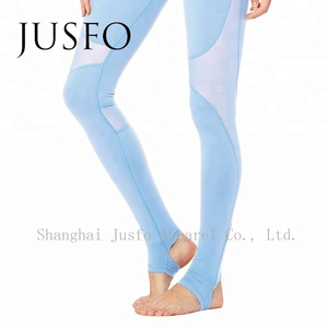 OEM Service Soft Breathable Tight Women Sports Pants Yoga Pants