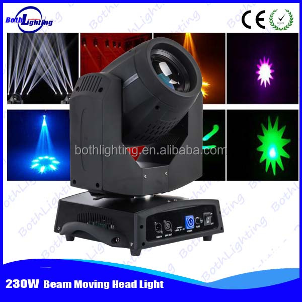 Guangzhou wholesale market movil 7r beam 7r 230w moving head for event using