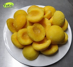 Brands different sizes frozen yellow peaches hot sale