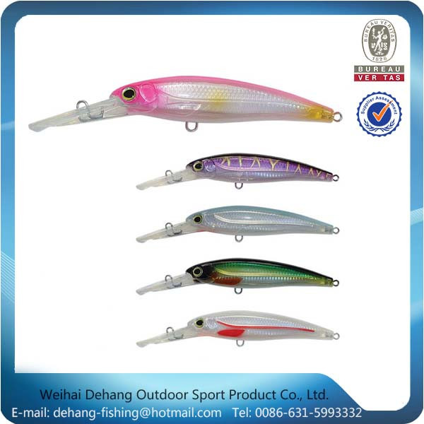 China Sea Fishing Bait Fishing Lure Minnow Lures Crankbaits